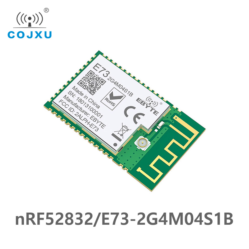 Bluetooth 5.0 NRF52832 Ebyte 2.4Ghz E73-2G4M04S1B IPEX PCB Antenna IoT Uhf Wireless Transceiver Ble 5.0 Rf Transmitter Receiver