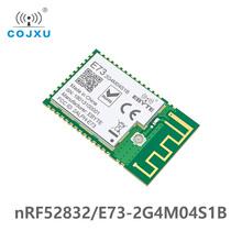 Bluetooth 5 0 nRF52832 ebyte 2 4Ghz E73-2G4M04S1B IPEX antena PCB IoT uhf bezprzewodowy Transceiver Ble 5 0 nadajnik rf odbiornik tanie tanio cojxu 2379~2496 MHz 17 5 * 28 7 mm 4 dBm 100m 512 KB 64 KB PCB IPEX
