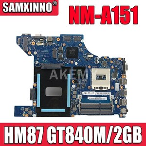 Akemy NM-A151 motherboard for Lenovo Thinkpad Edge E440 original mainboard HM87 GT840M/2GB