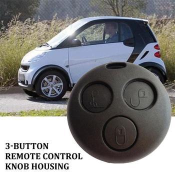 Un par de botones de mando A distancia de 3 botones, carcasa para Smart does Mc01 450, Fundas protectoras para llaves de coche, accesorios de coche