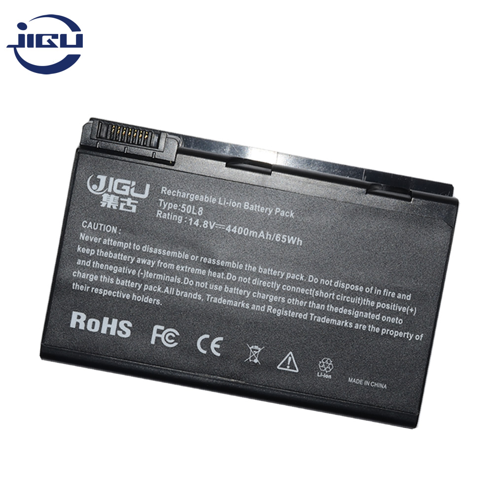 JIGU 8Cell Laptop <font><b>Battery</b></font> For <font><b>Acer</b></font> Extensa 5010 5200 5510 5510Z TravelMate 3900 4260 <font><b>5210</b></font> 5510 2490 4200 4230 BATCL50L4 BATCL50L image