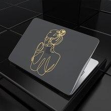 Mtt caso do portátil para macbook air 13 m1 a2337 2020 glitter girafa capa para macbook pro retina 13 a1425 a1706 a1932 a2338