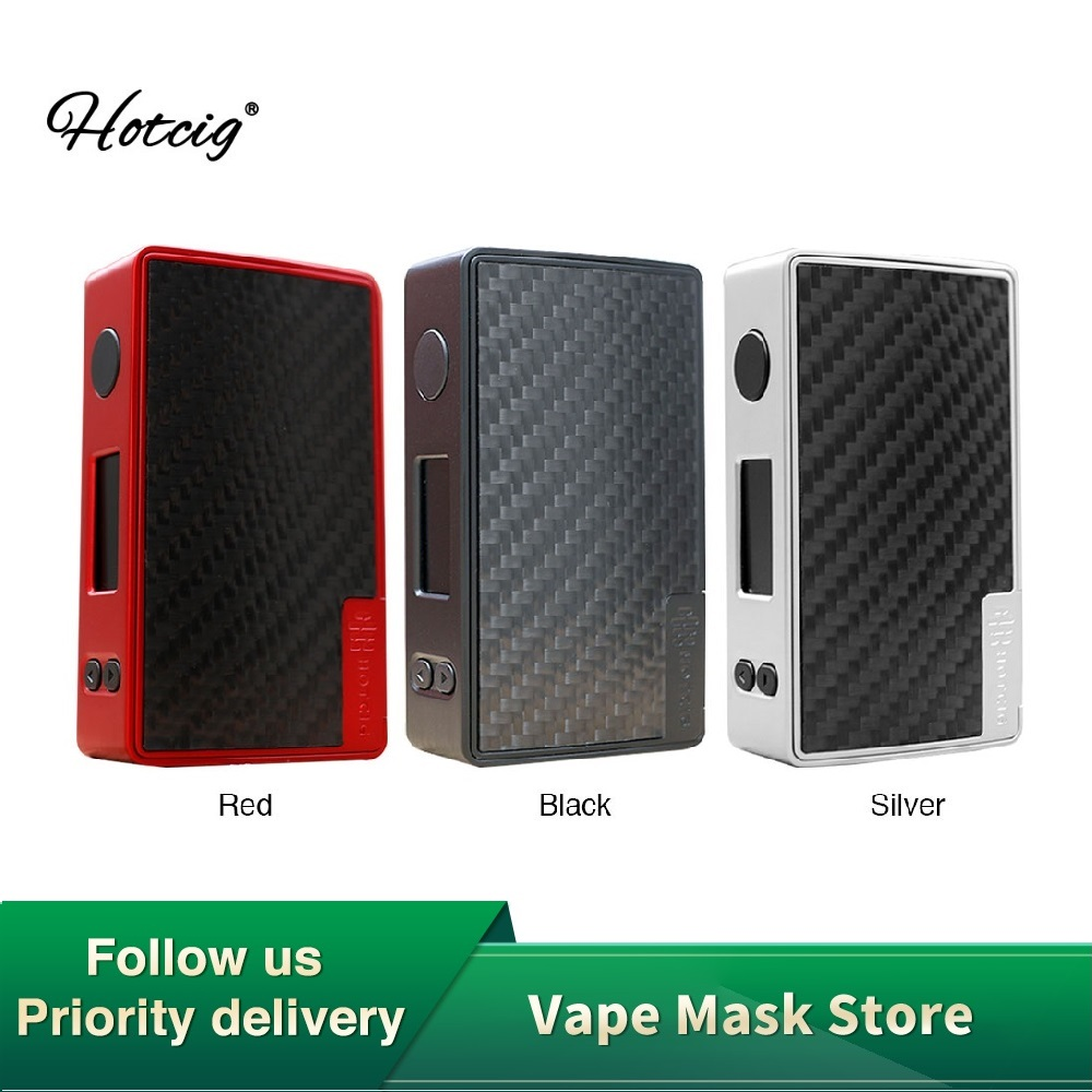 Original Hotcig RSQ Mate 213W TC BOX MOD No Battery With 0.8ms Fast Firing Speed & 0.96-inch OLED Display Vs Drag Nano/ G100 TC