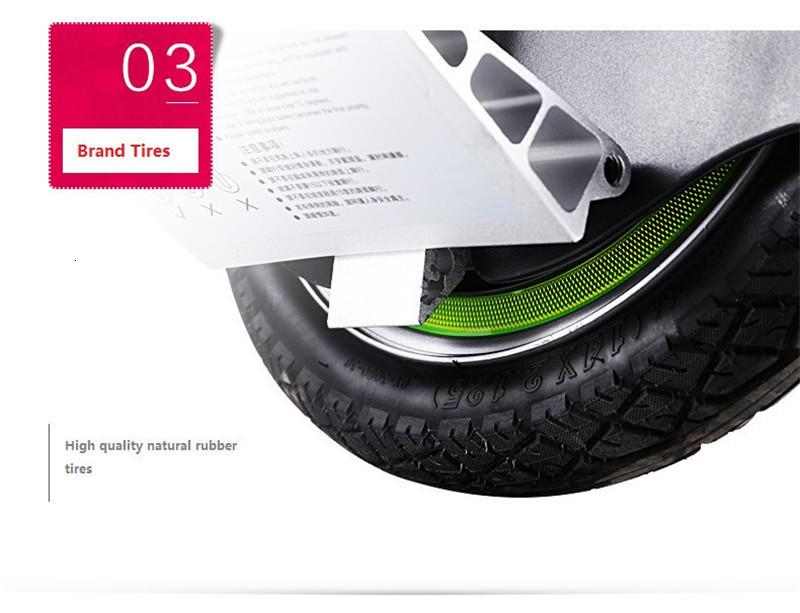 Daibot Electric Unicycle Scooter One Wheel Self Balancing Scooters With Training Wheel 14 Inch 60V Monowheel Scooter             (73)