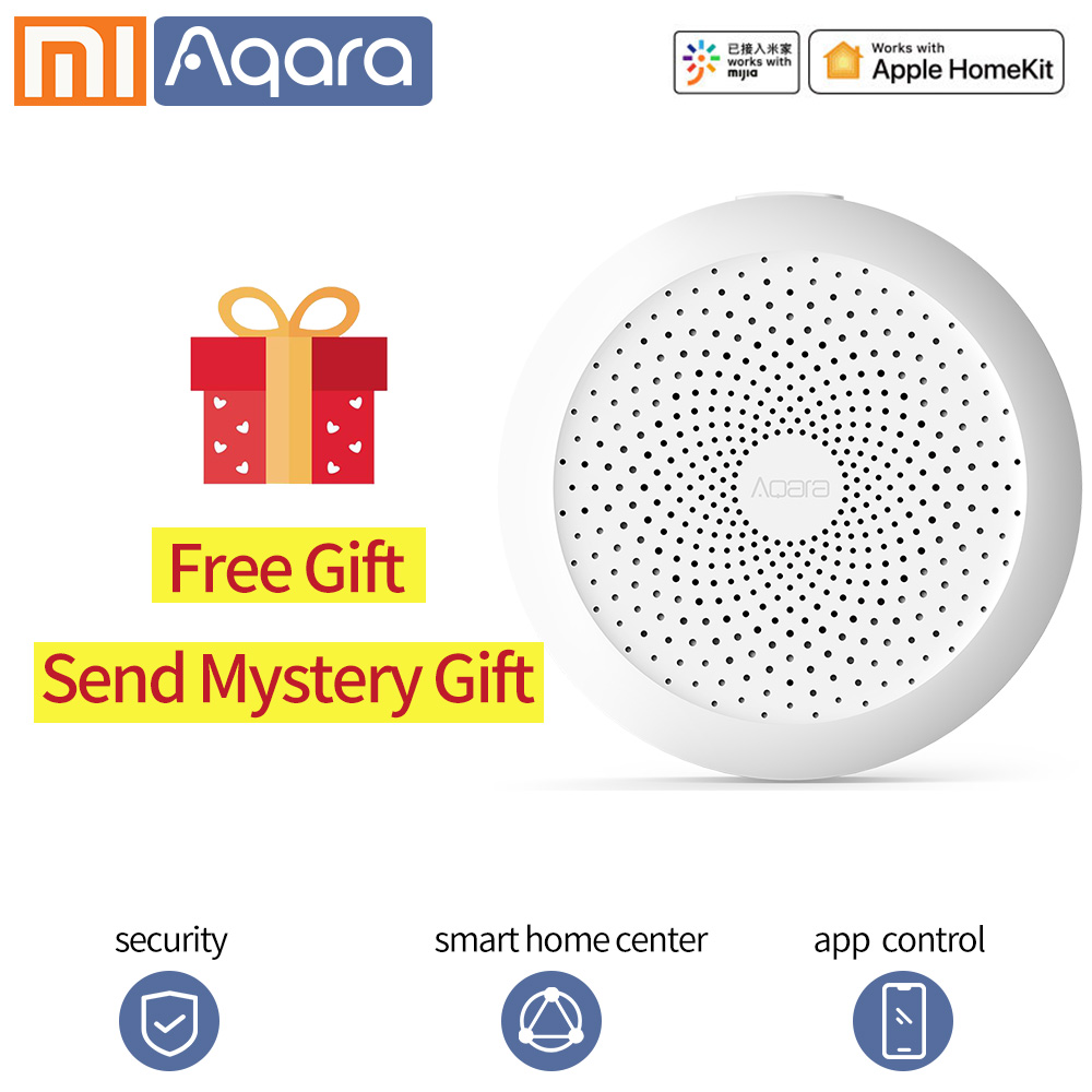 Aqara Gateway Xiaomi Gateway Network Centre Hub Smart Home Mi Home App WIFI Zigbee For Apple Homekit Xiaomi Smart Life
