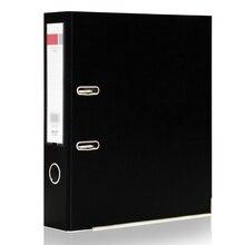 1pcs File Folder A4 Metal Ring Binder Folder Clipbar Organizer Box Multi-function Storage Finishing Office Supplies