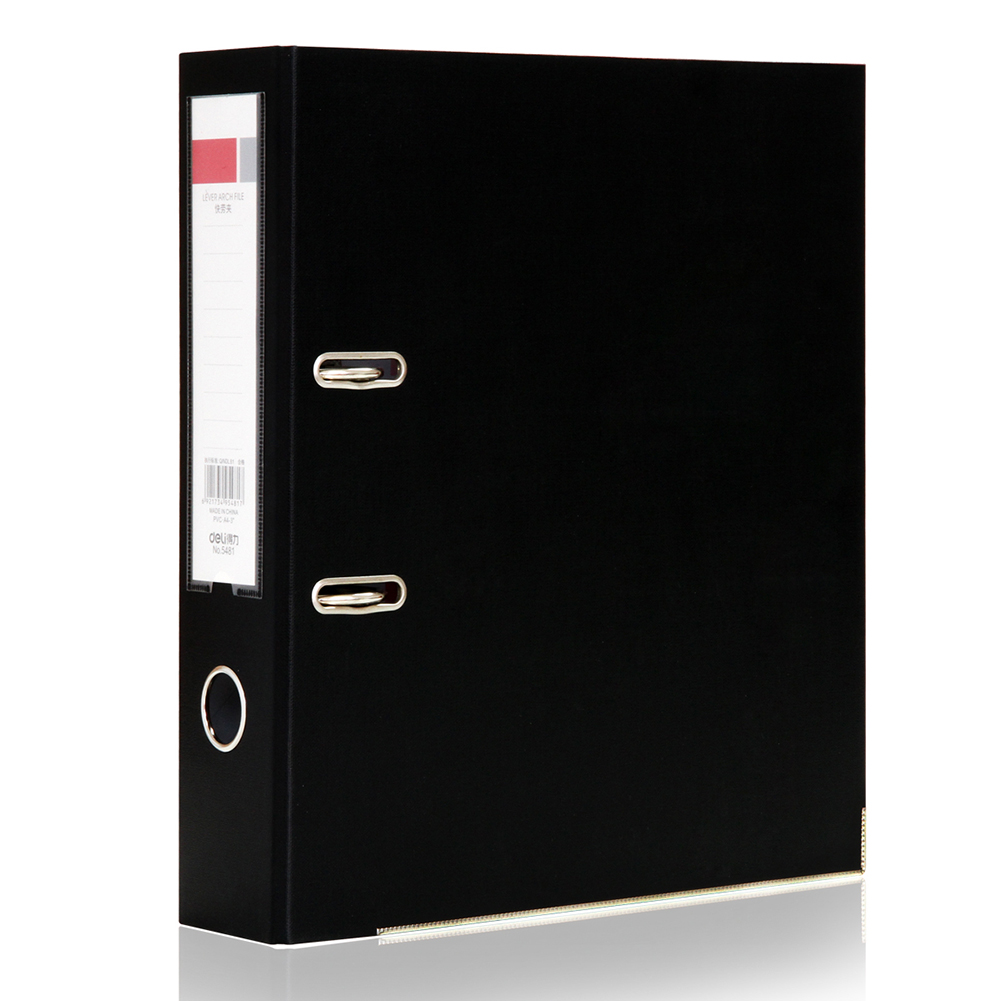 Office Folder A4 Metal Ring <font><b>Binder</b></font> Folder Clipbar Lever Arch File Stationery Document Holder <font><b>2</b></font> <font><b>Hole</b></font> Paper Punch Machine image