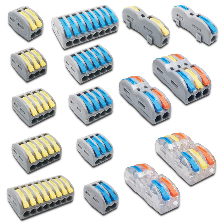 Мини Быстрый провод кабель соединители Универсальный Компактный проводник весна сплайсинга соединитель проводки Push in клеммный блок SPL 2/3 212|Соединители|   | АлиЭкспресс - Топ товаров на Али в мае