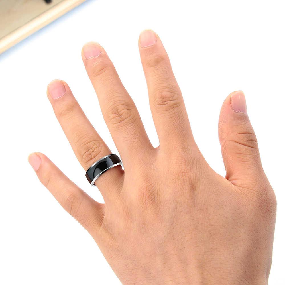 1PC חדש NFC חכם משולבת טבעת אצבע חכם ללבוש אצבע דיגיטלי טבעת להתחבר אנדרואיד טלפון ציוד טבעות
