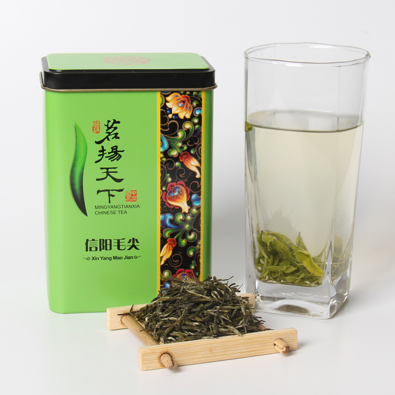 2020 Spring Green Tea Chinese Xinyang Maojian Green Tea Real Organic New Early Spring Tea For Weight Loss Health Care Gift Pack