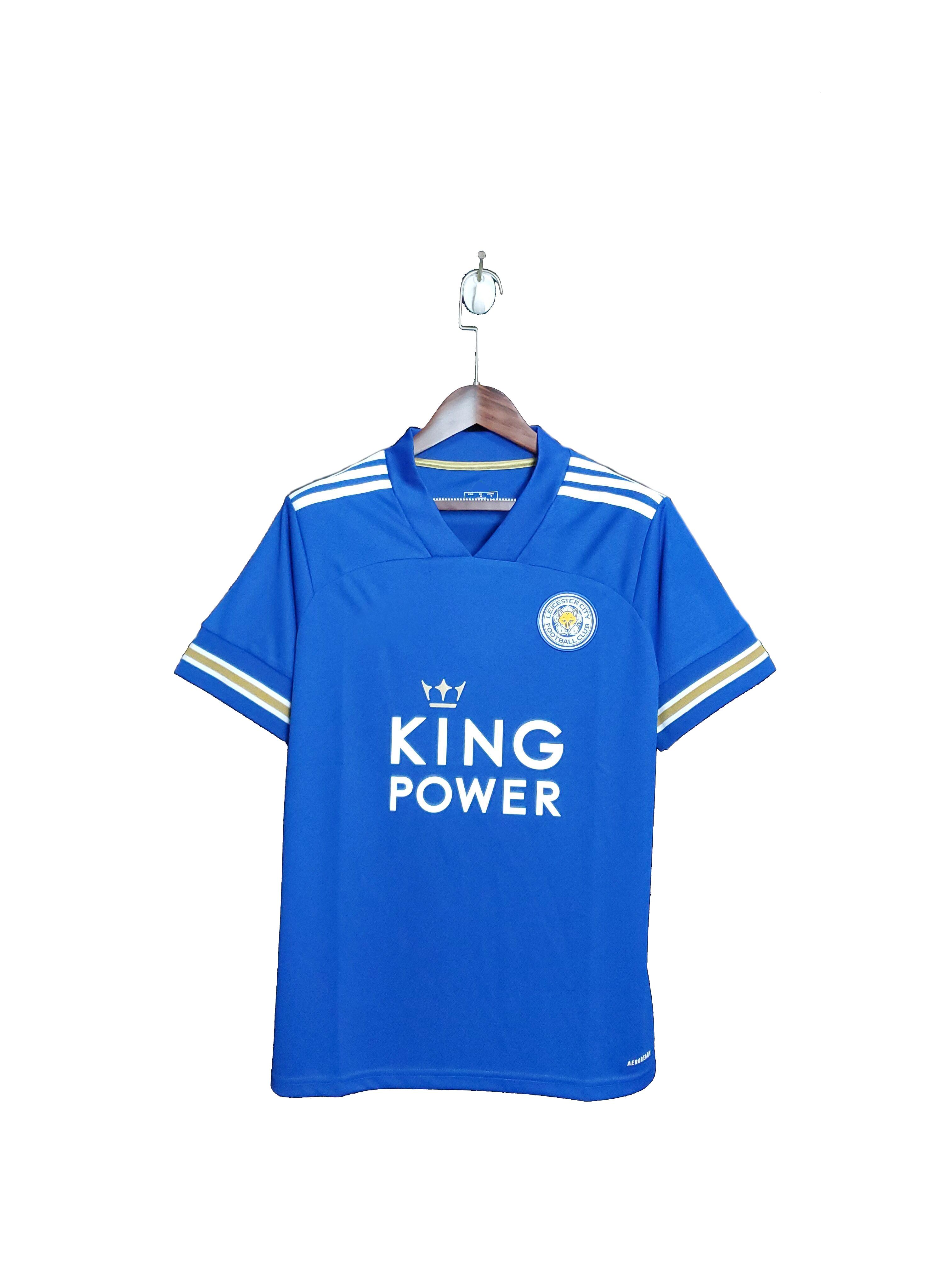 La ciudad de Leicester de alta calidad camiseta Tailandia casa jersey para el 20 21 temporada|Camisas informales| - AliExpress
