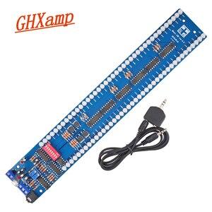 Image 5 - GHXAMP, двойной 40 светодиодный индикатор уровня музыкального спектра, плата аудио MP3, индикатор управления звуком VU измерительный усилитель сабвуфер для автомобиля 5 В