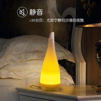 Mute Electric Incense Burner Color Night Light Ultrasonic Air Humidifier Bedroom Fragrance Incense Burner Home Decor MM60XXL