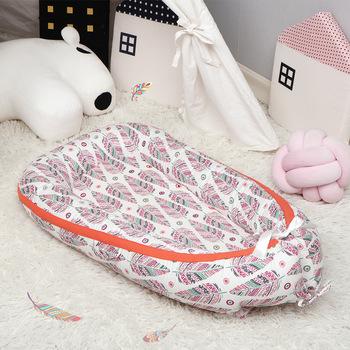 Łóżeczko dziecięce łóżeczko dziecięce wymienny noworodek poduszka ochronna łóżeczko dziecięce łóżeczko dziecięce łóżeczko dziecięce łóżeczko dziecięce 85x50cm tanie i dobre opinie Tkaniny 85*45 cm Przenośne 0-3 M 4-6 M 7-9 M 10-12 M 13-18 M 19-24 M 2-3Y Zwierząt