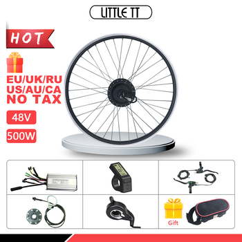 цена на Electric Bicycle  Conversion Kit 48V 500W Front Hub motor Wheel  with Display for  Ebike Conversion Kit