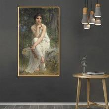 Citon amble Lenoir 《 The flute player 》 lienzo pintura al óleo cartel de ilustraciones de fama mundial imagen decoración de pared moderna decoración del hogar