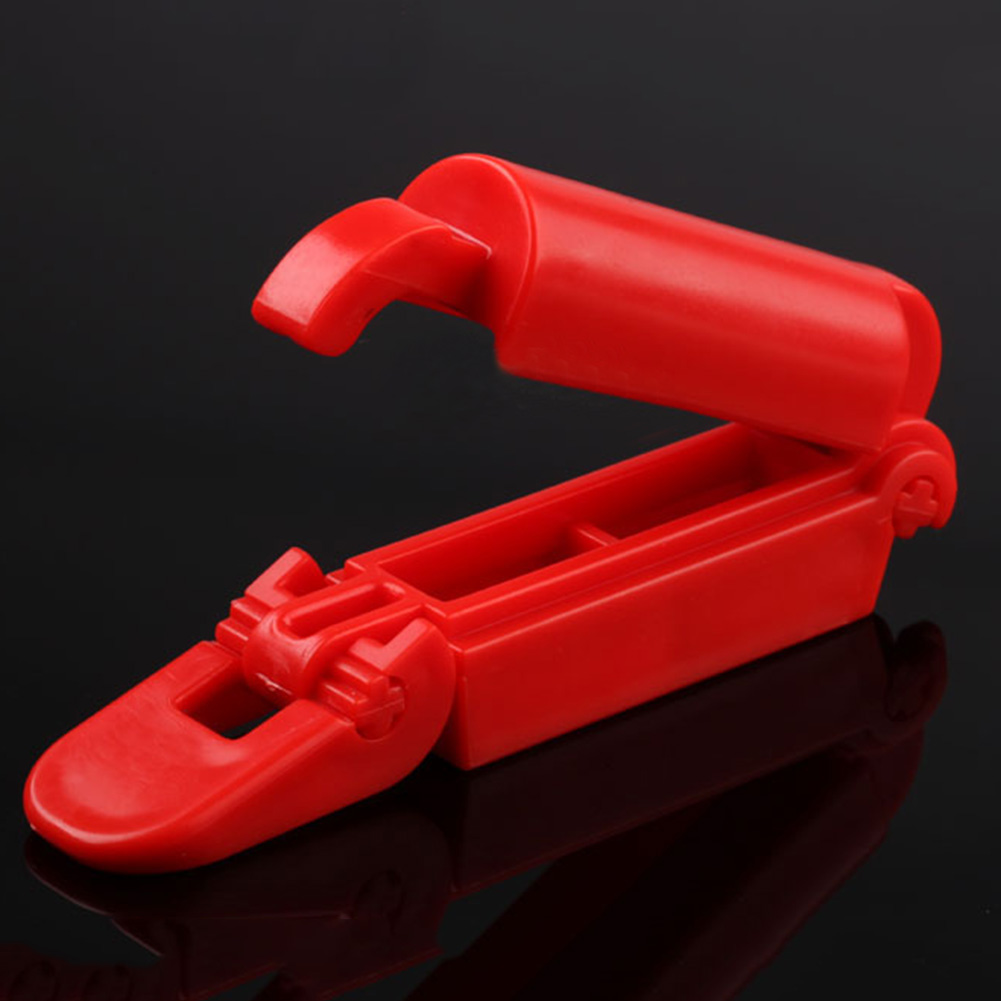 Portable Universal Styling Easy Install Tool Fixed Car Interior Durable Kid Seat Plastic Safety Belt Clip