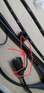 Fujinon EG-590WR EC-590WL водонепроницаемая крышка Соединительный ремень коннектор; PCB; Плата
