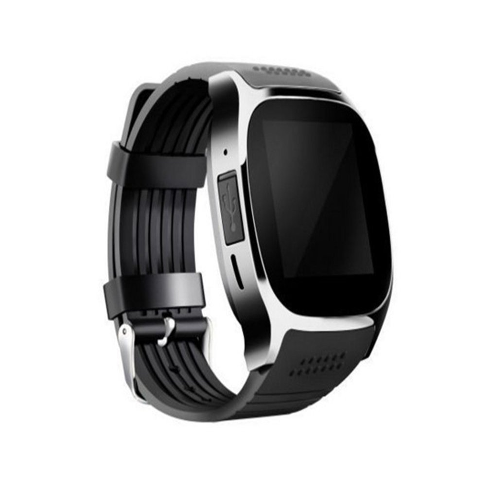 HOT T8 Bluetooth Smart Card Phone Watch Sports Step Smart Wear Watch