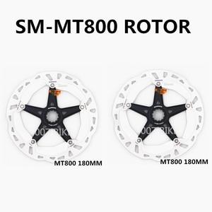 Image 5 - SHIMANO DEORE XT SM RT81 MT800 eis Punkt Technologie Bremsscheibe CENTER LOCK Disc Rotor Mountainbikes Disc RT81 160MM 180MM 203MM