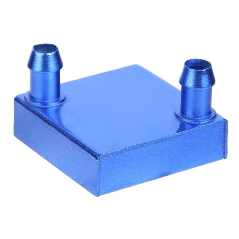 Waterblock líquido refrigerado a água de alumínio do bloco para o sistema do dissipador de calor da cpu do pc e do portátil, refrigerador da refrigeração, 40mm
