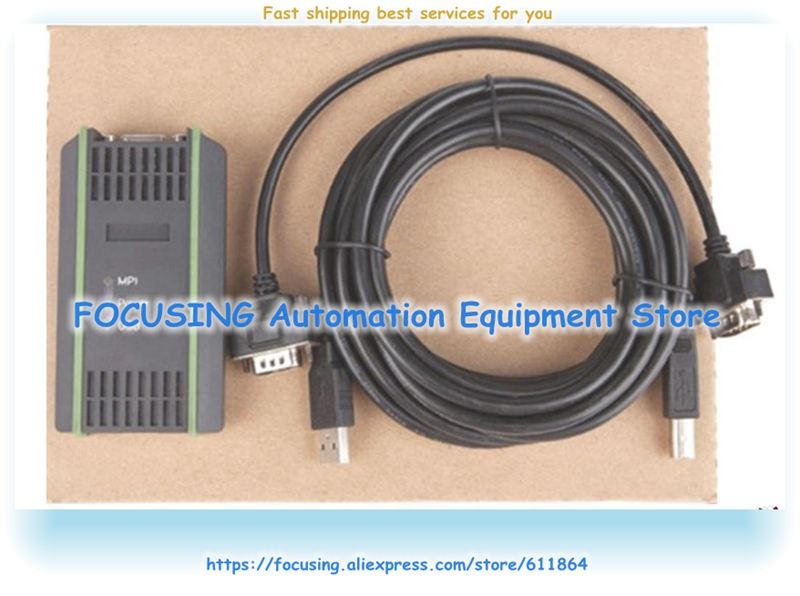 Programming Cable For Siemens S7-200-300//400 PLC 6GK1571-0BA00-0AA0
