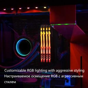 Image 2 - キングストン HyperX フューリー DDR4 RGB メモリ 2666 MHz 3200MHz DDR4 CL15 DIMM XMP 8 ギガバイト 16 ギガバイトメモリア Ram ddr4 デスクトップ用メモリ Rams