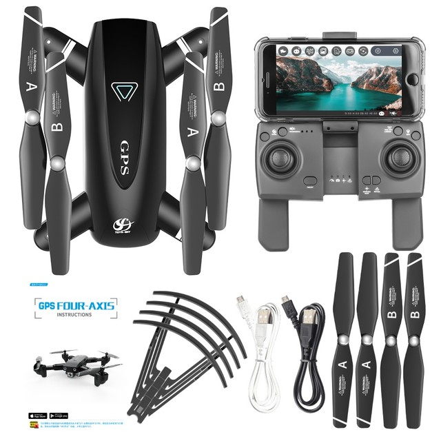 S167 GPS Drone With Camera 5G RC Quadcopter Drones HD 4K WIFI 6