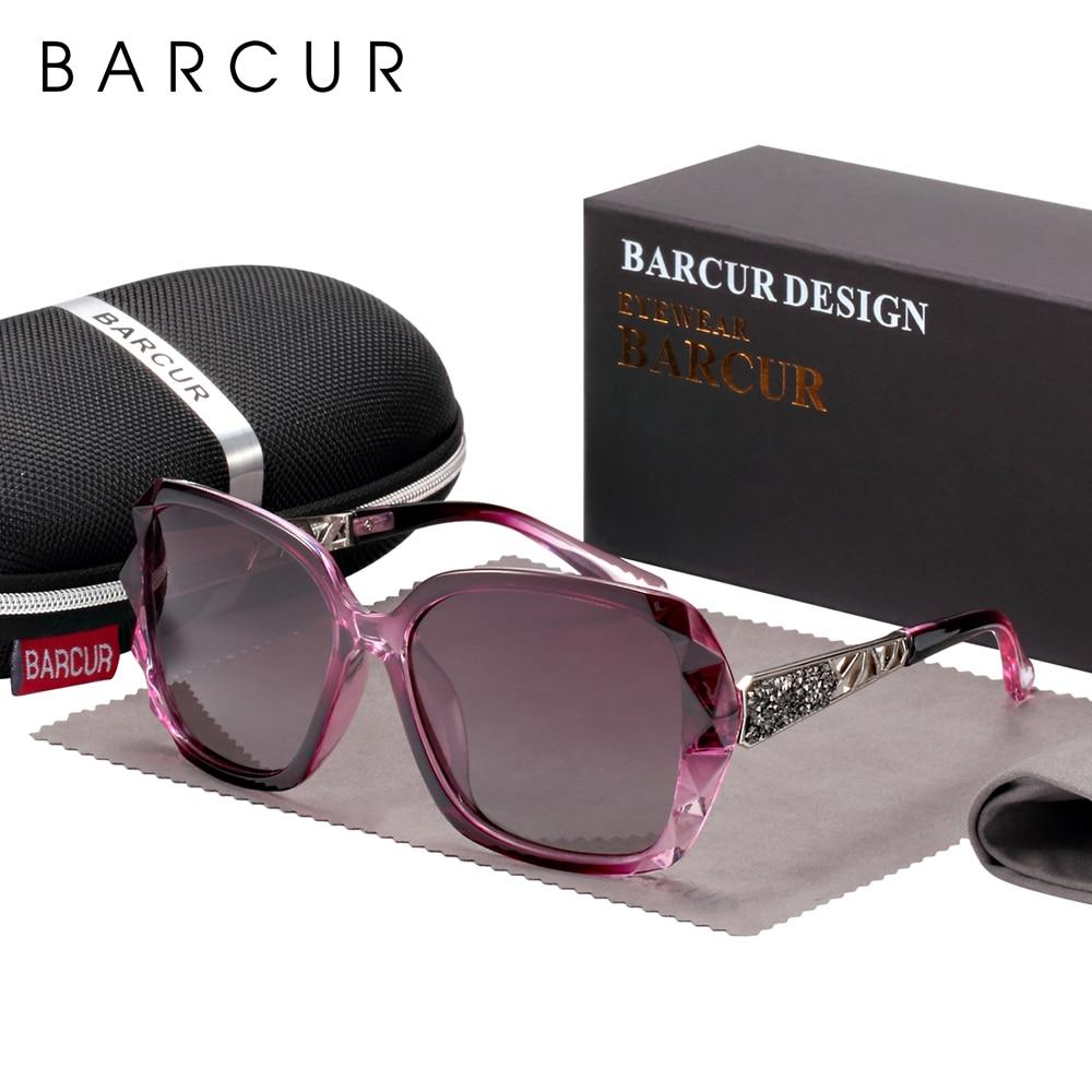 BARCUR Original Sunglasses Women Polarized Elegant Design For Ladies Sun Glasses Female 9