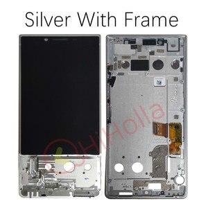 Image 3 - Digitalizador de pantalla táctil de pantalla LCD para BlackBerry Key 2, recambio de Marco