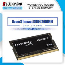 Kingston hyperx memoria ram ddr4 8gb 16gb CL15 2666MHz 32gb CL16 Impact sodimm ddr4 260