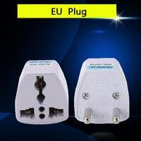 1 Uds adaptador de enchufe Universal internacional de 3 pines adaptador de enchufe convertir EU/GE/US/AU/UK enchufe AC100 ~ 250V 10A toma de corriente
