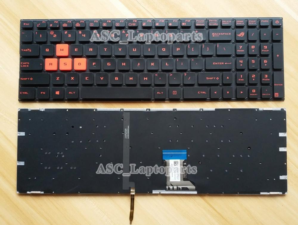 New for ASUS Rog GL502VM GL502VS GL502VT GL502VY laptop US backlit keyboard