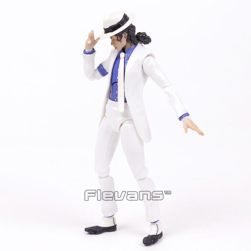 Singer Jackson Figure Smooth Criminal Anti-gravity Lean Michael Action Figure Figurine Doll Toy
