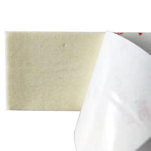 Image 3 - 10 قطعة/الوحدة المهنية 5 سنتيمتر عرض استبدال قطع الصوف الجلد المدبوغ ورأى ل الممسحة مع الذاتي لاصق 3M الغراء سيارة التفاف أداة A11