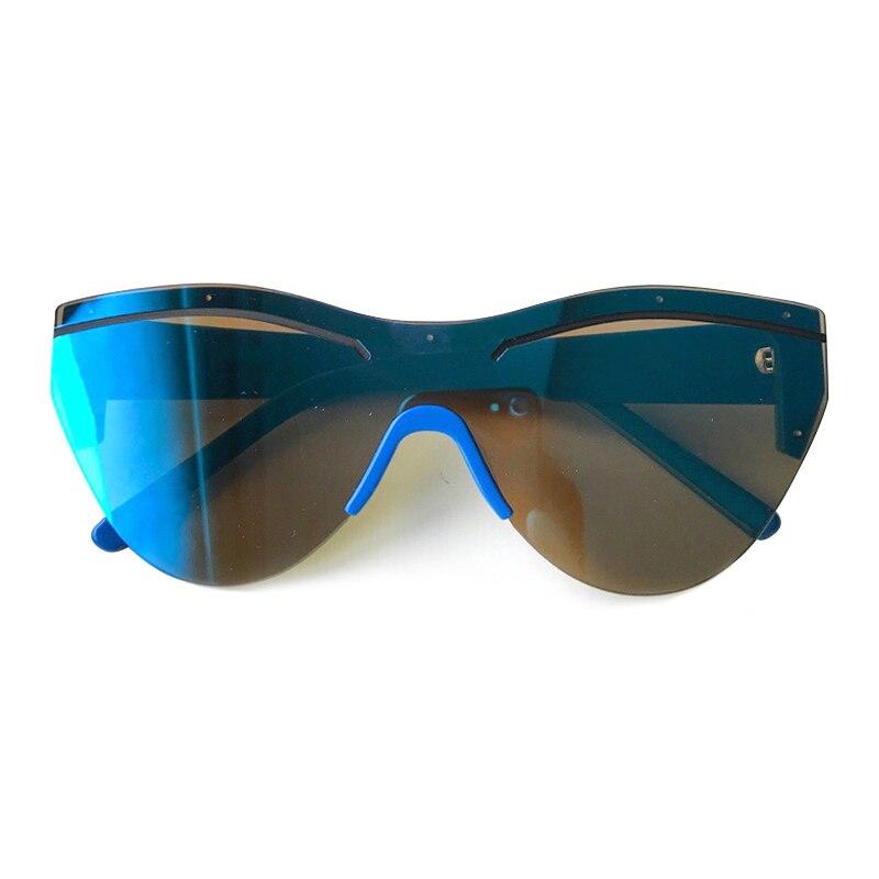 Lunettes de soleil yeux de chat femmes marque Designer Vintage une pièce lunettes de soleil hommes