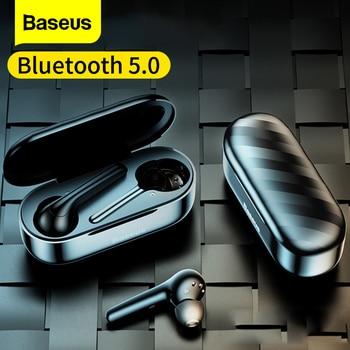 Baseus W07 Bluetooth Earphone TWS with Dual Noise reduction Mic