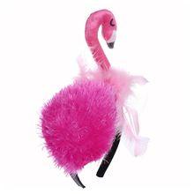 Funny Flamingo Headpiece Hair Hoop Headband Birthday Party Cosplay Headwear H55B
