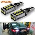 Комплект из 2 предметов, с can-bus T15 W16W 2835 SMD 15 светодиодный Автомобильный Обратный светильник, резервный светильник для Mazda 6 8 CX-3 CX3 CX-5 CX5 8 CX 5 M8 RX8 ...