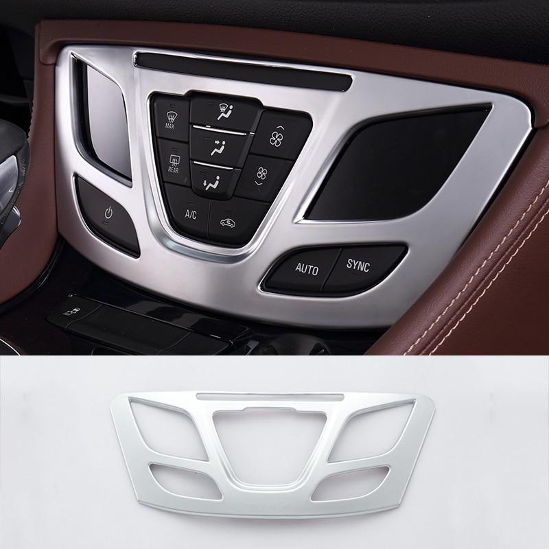 Внутренняя консоль для Buick Envision 2014-2016, кондиционер, отделка, молдинг, украшение, аксессуары для стайлинга автомобиля