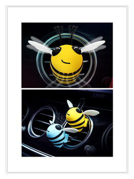 Creative Bees air freshener ventilation outlet interior perfume spray vehicle perfume for Kia eco Pro-cee-d KOUP cee-d Rondo Kue image