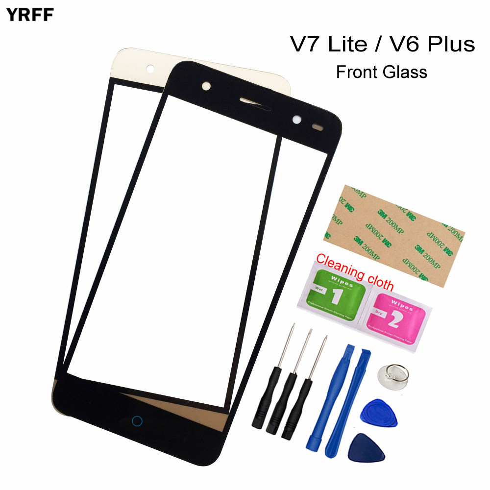 5.0'' Panel For ZTE Blade V7 Lite Front Glass Panel (No Touch Screen) Outer Glass Cover Assembly Parts