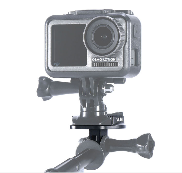 3 2 1 Camera PML!Y Quick Release Tripod Mount Adapter for Go Pro HD Hero 4 3