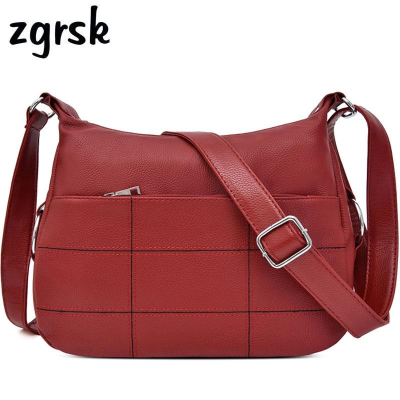 Women Handbags Luxury Satchel Pu Leather Bags Designer Evening Clutch Red Vintage Bag Bolsos