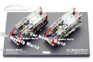 """Image 2 - Diecast Car Model Almost Real  """"The British Trans Americas Expedition"""" Edition 1:43 + SMALL GIFT!!!!"""