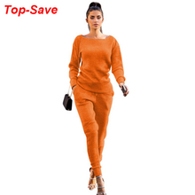 Hoodies Clothing 2piece-Set Pencil-Pants Cashmere-Suit Knitted Autumn Winter Casual Women's