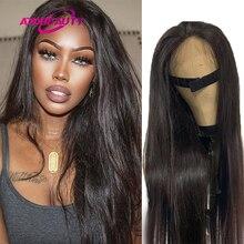 4x4 perucas de cabelo humano em linha reta 5x5 hd fechamento do laço peruca brasileira cabelo humano remy peruca cor natural pré-arrancado linha fina 250%