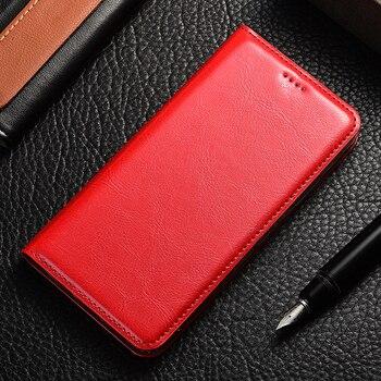 Чехол-книжка из натуральной кожи для Samsung Galaxy A10 20 30 40 50 60 70 80 90 e s 5G crazy держатель лошади задняя крышка сумки