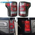Задняя часть автомобиля светильник чудесный хвост светильник для Ford F-150 F150 Svt Raptor 2015 - 2019 задние дальнего света + стоп-сигнал светильник + обра...
