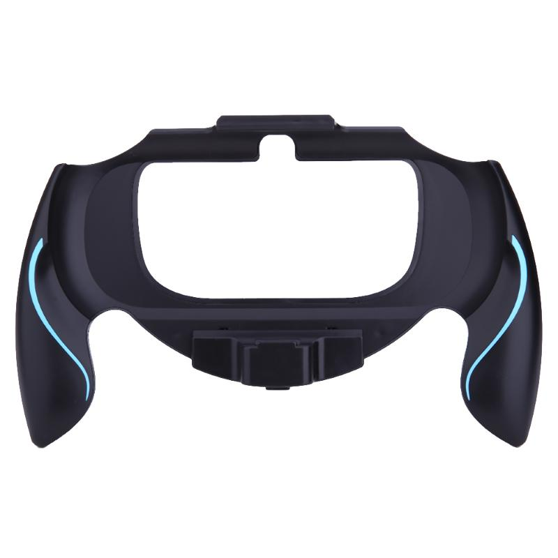Anti-skid Plastic Grip Handle Holder Case Bracket Protective Cover Game Accessories for <font><b>Sony</b></font> PSV <font><b>PS</b></font> <font><b>Vita</b></font> <font><b>1000</b></font> Controller image